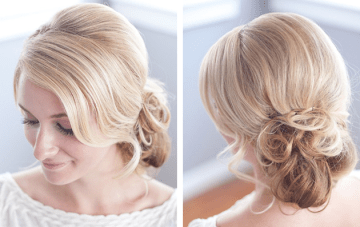 Bridal Hair: Romantic & Messy Chignon Tutorial