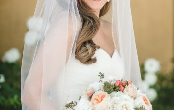 Navy and Peach Wedding | Anita Martin Photography | Bridal Musings 32