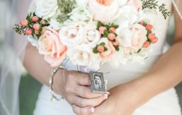 Navy and Peach Wedding   Anita Martin Photography   Bridal Musings 34