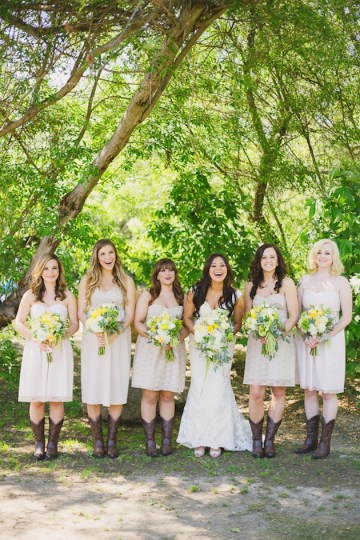 Yellow And Green Rustic Ranch Wedding | Closer To Love Photography 15