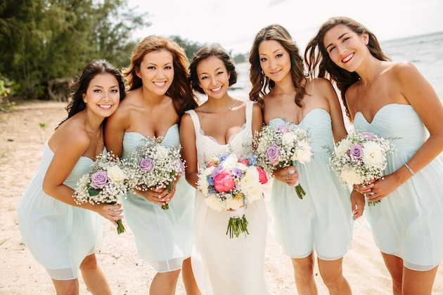 Dreamy Pastel Hued Wedding In Hawaii
