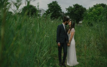 Intimate, Bohemian Wedding in A Meadow