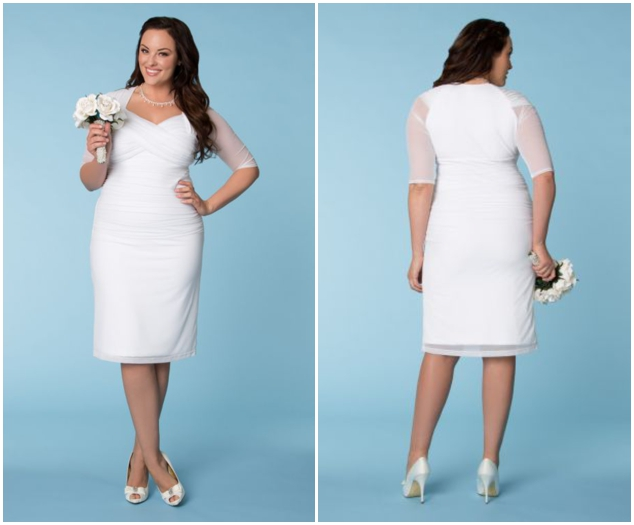 9e68268f546 Plus Size Wedding Dresses From 10 of The Top Plus Size Wedding Dress ...