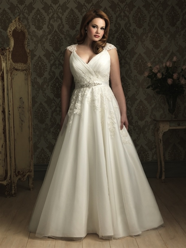 514f9aff08b54 With a perfectly constructed gown made with luxurious fabrics in a modern  silhouette, every Allure bride walks down the aisle in confident style.
