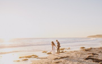Beachy Chic Multicultural Wedding In California