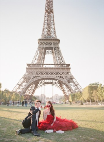 Paris Engagement Shoot By Aneta Mak | Bridal Musings Wedding Blog 25