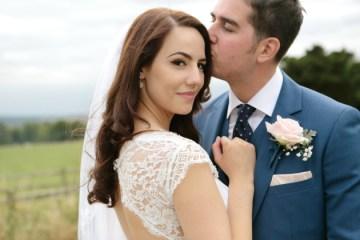 Pink and Grey Polka Dot Wedding | Dasha Caffrey Photography | Bridal Musings Wedding Blog 18