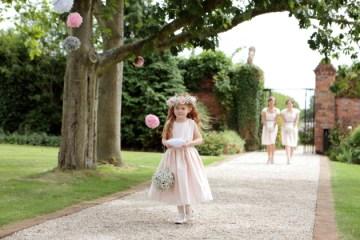 Pink and Grey Polka Dot Wedding   Dasha Caffrey Photography   Bridal Musings Wedding Blog 27