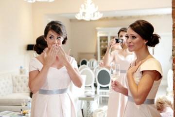 Pink and Grey Polka Dot Wedding | Dasha Caffrey Photography | Bridal Musings Wedding Blog 35