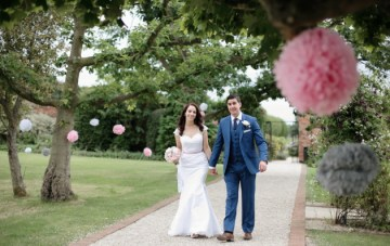 Grey, Pink & Polka Dots Wedding Film By Reel Weddings