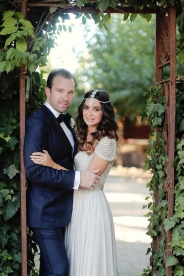 Reem Acra wedding dress | chic California wedding | Traci Griffin Photography | Bridal Musings 19