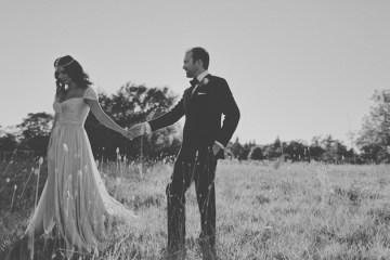 Reem Acra wedding dress | chic California wedding | Traci Griffin Photography | Bridal Musings 29