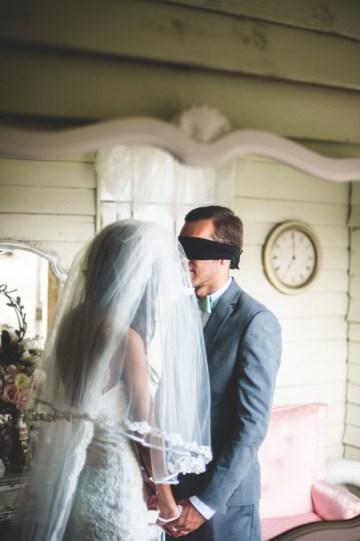 Blush and Mint Rustic DIY Wedding | Beca Companioni Photography | Bridal Musings Wedding Blog 16