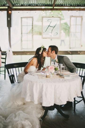 Blush and Mint Rustic DIY Wedding | Beca Companioni Photography | Bridal Musings Wedding Blog 20