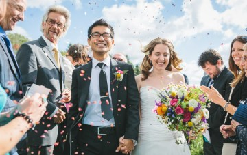 Intimate, Colourful & Fun Wedding In Cornwall