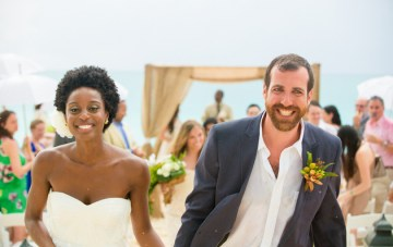 Beautiful Beach Wedding in The Turks & Caicos Islands