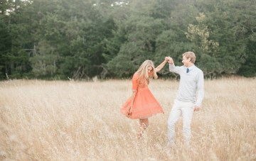 California Countryside Engagement Shoot by Kristen Booth Photography