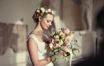 Wildly Romantic & Whimsical Wedding Inspiration Shoot by Her Lovely Heart