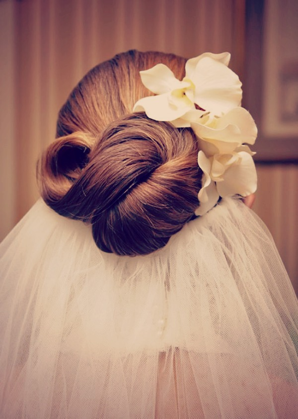 Wedding Hair Inspiration; The Infinity Knot