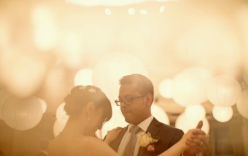 Pretty Pearly Wedding by the River Thames