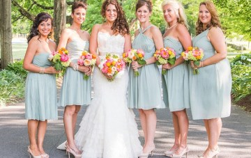 Colourful Connecticut Wedding With an Abundance Of Fabulous Florals