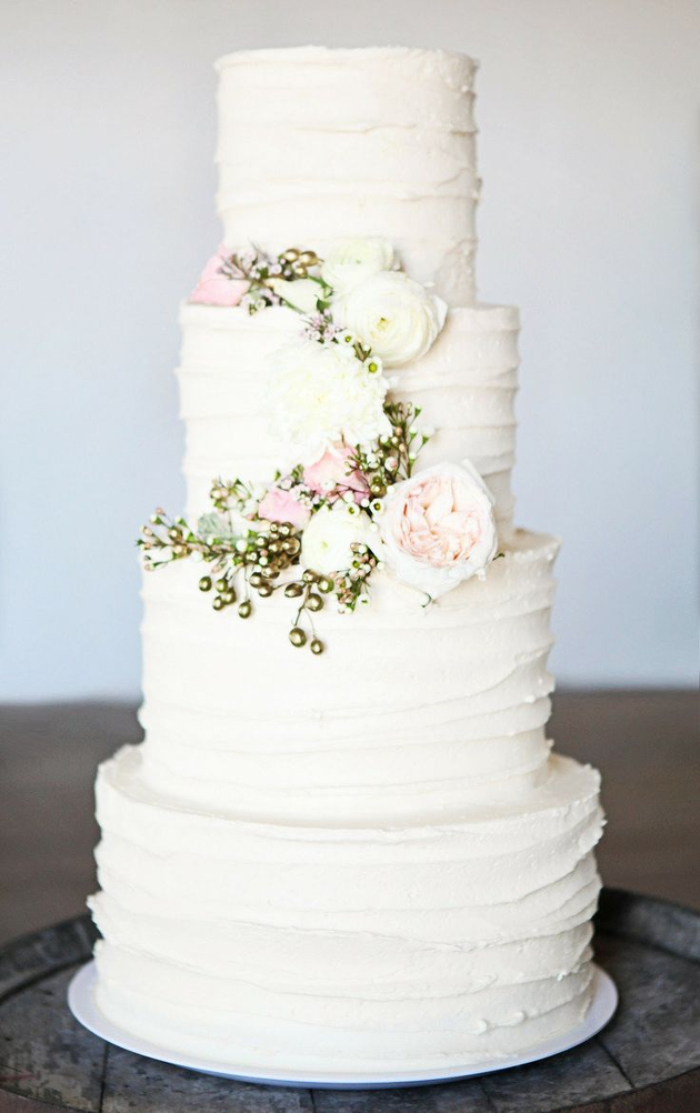 2014 Wedding Cake Trends 3 Buttercream Beauties  Bridal Musings