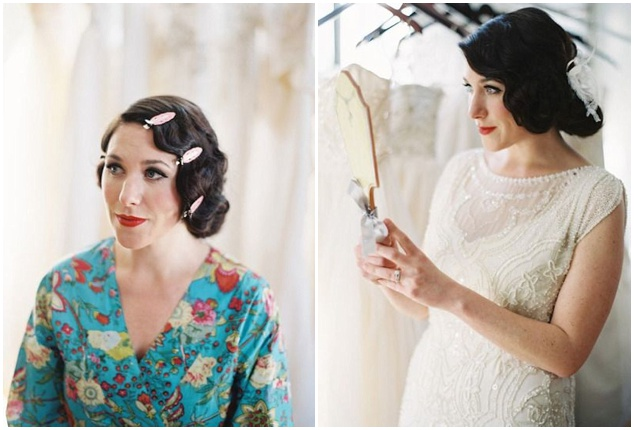 How to Wear a Bob for your Wedding | Bridal Bobs | Bridal Musings Wedding Blog 401