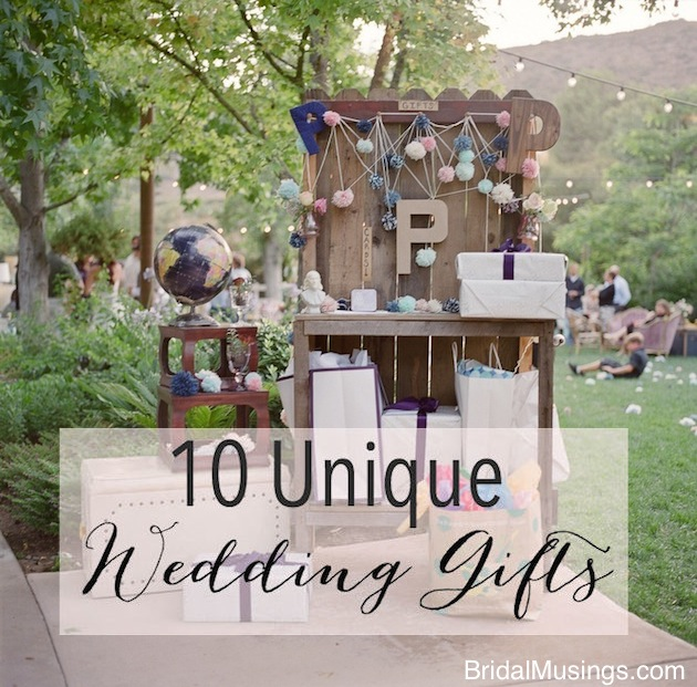 Wedding Season Special: One of a Kind Wedding Gifts