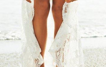 Barefoot Beach Brides | Bridal Musings Wedding Blog 1