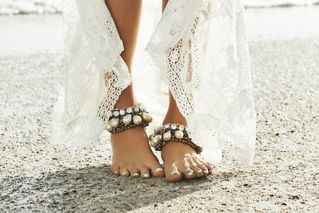Barefoot Beach Brides Bridal Musings Wedding Blog