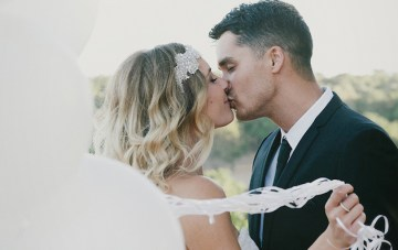 Stunning Australian Winery Wedding, with the Most Beaming Bride