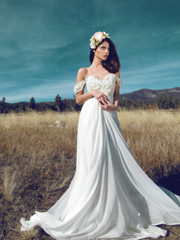 New Bridal Collection Crush: Lauren Elaine Wedding Dresses