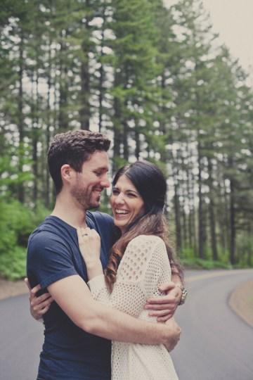 Romantic Woodland Engagement Shoot | Terra Rothman Photography | Bridal Musings Wedding Blog 10
