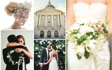 Retro Romantic, 50s Black & White Inspiration Board