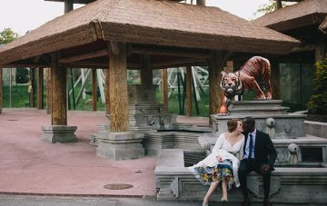 A Very Cool Multicultural Wedding Film… In a Zoo