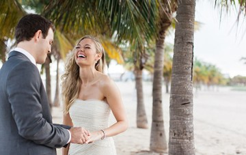 A Stunningly Beautiful Elopement in Miami