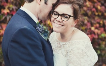Bespectacled Brides: How to Rock Glasses on your Wedding Day