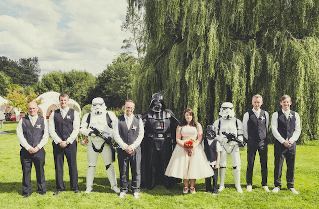 Star Wars Wedding.13 Chic Star Wars Themed Wedding Ideas