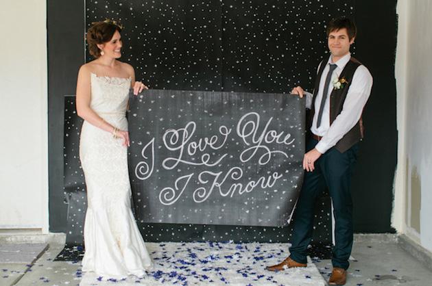 13 Chic Star Wars Themed Wedding Ideas