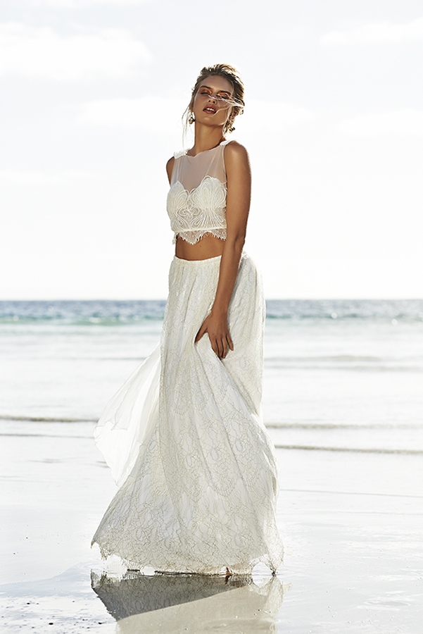 Crop Top Wedding Dress | Bridal Musings 20