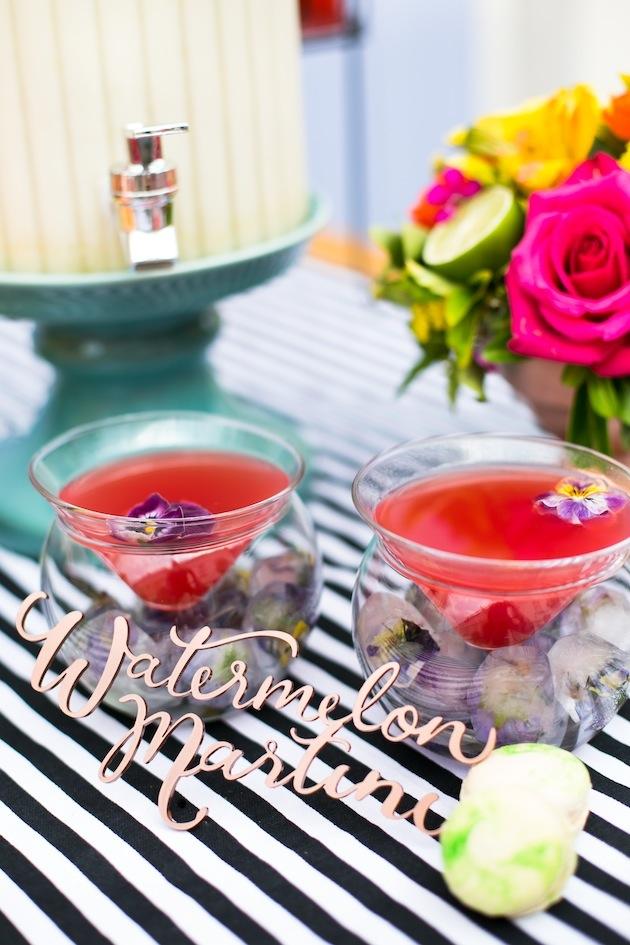 Cute Cocktails | Wedding Ideas | Bridal Musings Wedding Blog 13