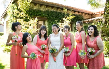 Succulent and Corals; A Desert-Inspired California Wedding