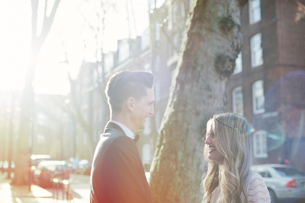 A Bohemian Shoreditch Wedding with an Achingly Cool Bridal Party