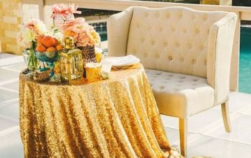 Table For Two: Sweetheart Table Inspiration