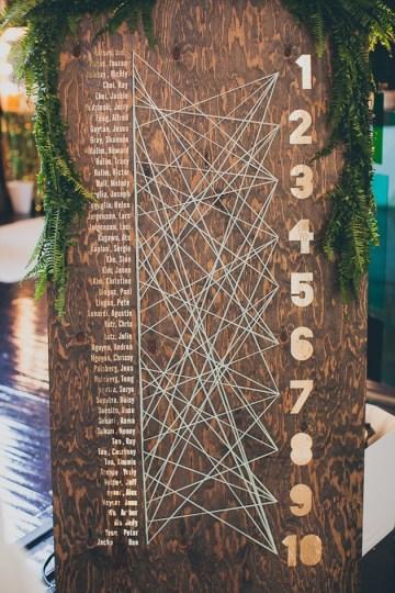 Unique Seating Chart Ideas | Bridal Musings Wedding Blog 10