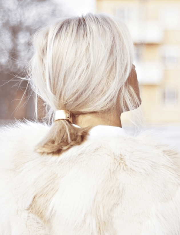 Brides with Pony Tails | Pony Tail Wedding Hair | Bridal Musings Wedding Blog12