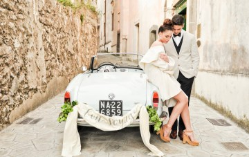 Oh-So-Chic Amalfi Coast Wedding Inspiration