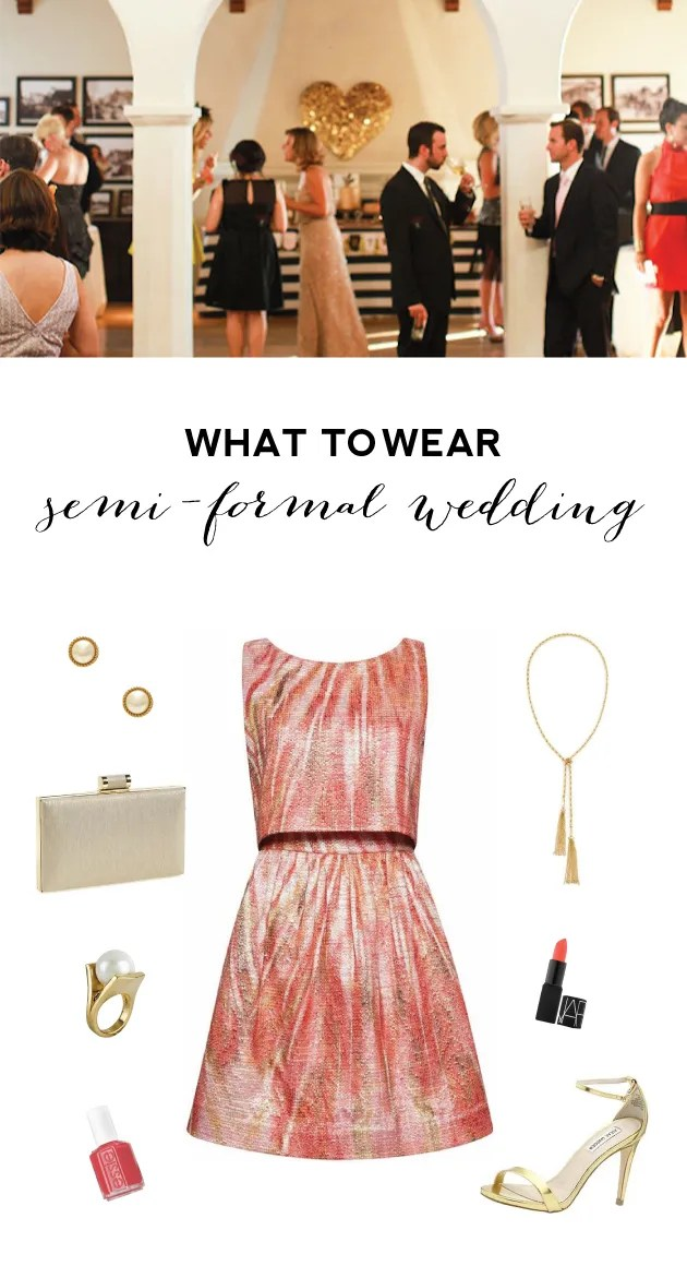 Wedding Guest Attire - What to Wear to a Semi-Formal Wedding