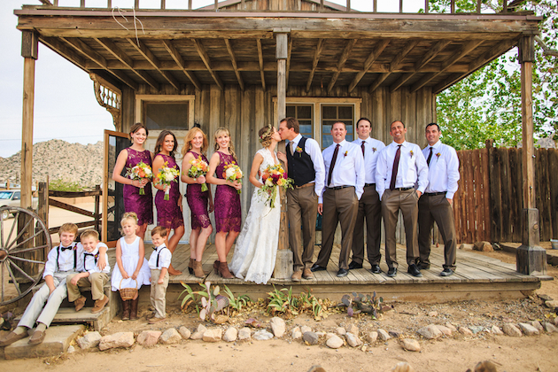 6bca713280b Romantic Western Wedding with Chic Rustic Details