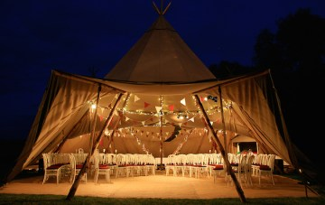 Yurts, Tipis and Tents; Your Ultimate Guide To Wedding Marquees
